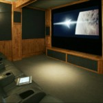 Rustic, Mountain Style Home Theater Designs