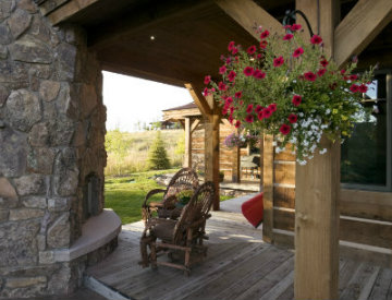 Design Inspiration: Rustic Outdoor Living Spaces