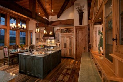 Rustic Kitchens Designs