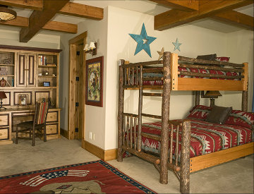Rustic Western Bunk Rooms