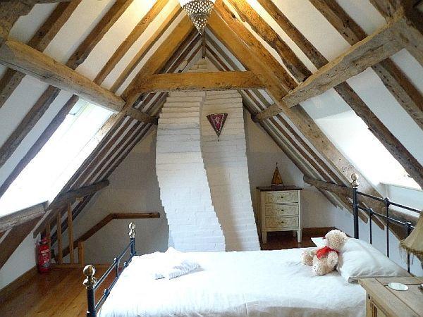 Cozy, Rustic Attic Bedrooms