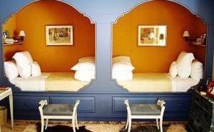 Not rustic bunk rooms