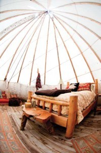 Teepee Interior Design | Home on the Range