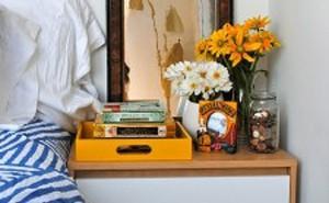 Yellow Interior Decor | Home on the Range