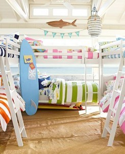 Kids Beach Bunk Room | Home on the Range