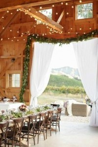 Rustic Wedding Decor | Home on the Range