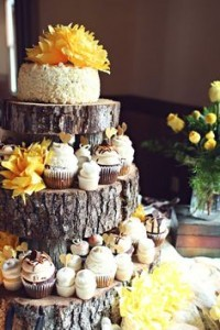 Rustic Wedding Cupcakes | Home on the Range