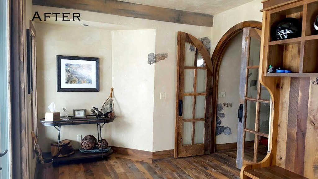 Rustic Western Entryway | Home on the Range