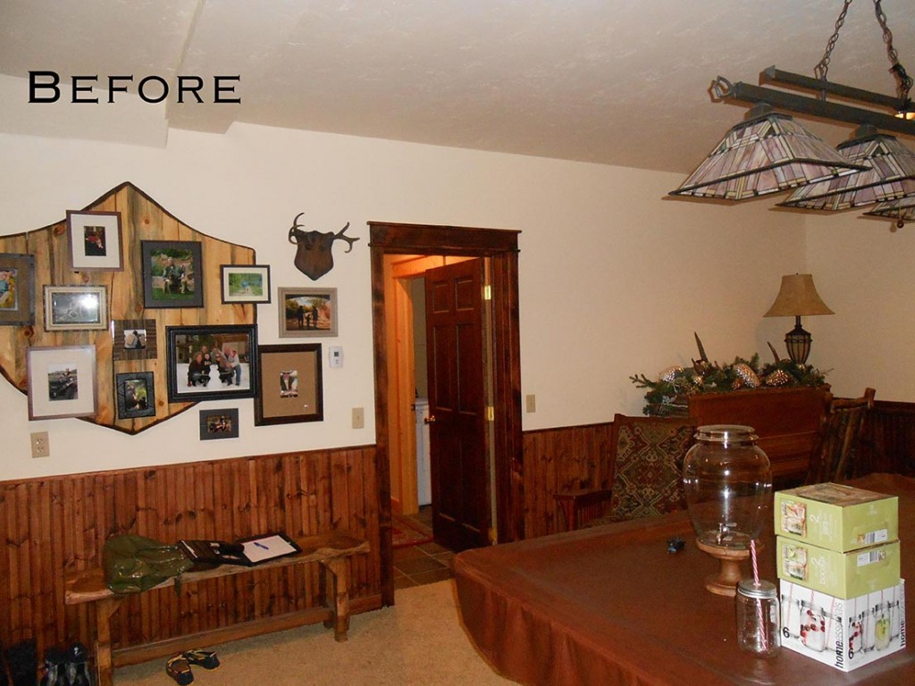 Rustic Remodel Before Photo | Home on the Range